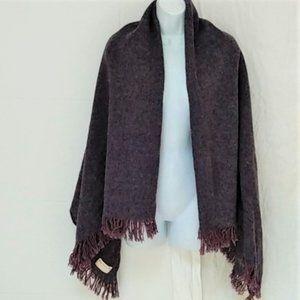 Vintage Islay Woollen LARGE Blanket scarf